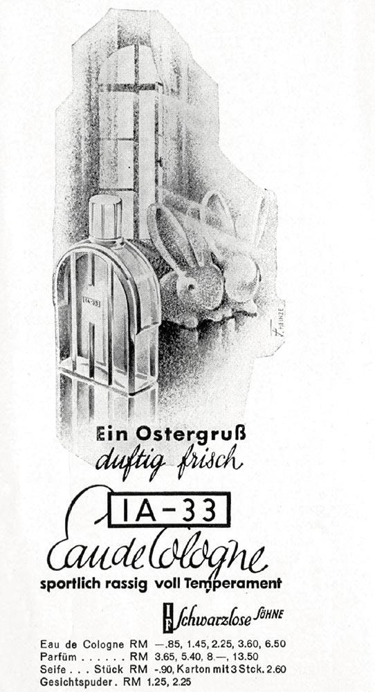 J.F. Schwarzlose Parfum Berlin 1A-33