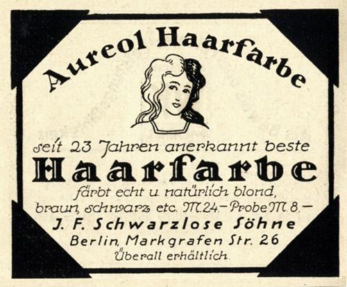 Schwarzlose Aureol